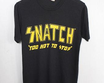 RESERVED! Snatch shirt 1985 vintage t shirt band t-shirts rare Glam Metal tshirt 80s heavy metal clothing hair metal tee heavy sleaze rock