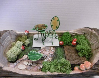 Fairy garden set,garden tools ,garden furniture,outdoor gardening,fairy garden,miniture tools,