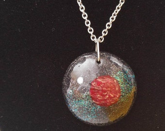 Red Planet pendant