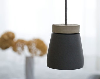 LED grey - concrete hanging frida incl. illuminant