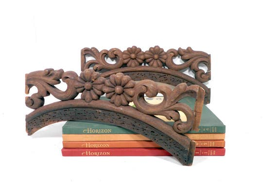 Salvaged Carved Wood Furniture Parts Vintage Architectural Wooden Chair  Parts  Antique Victorian Sofa Backs from LifeProject on Etsy Studio. Salvaged Carved Wood Furniture Parts Vintage Architectural Wooden