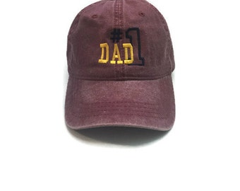 FREE Shipping #DAD Embroidered Washed Cap