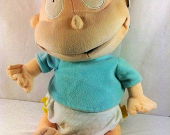 Rugrats Tommy Pickles Plush Doll - Vintage Rugrats  - 16 inches
