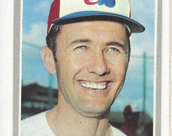 1970 Topps TY CLINE Montreal EXPOS Original vintage card number 164 in good condition