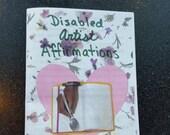 Disabled Artist Affirmations - Digital