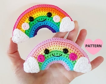 Little Rainbow - PDF Pattern, crochet, amigurumi
