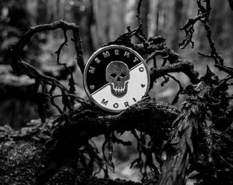 Memento Mori Pin – Limited Edition