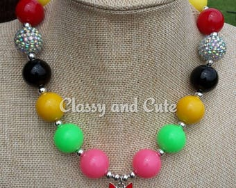 Power Puff Girls Necklace