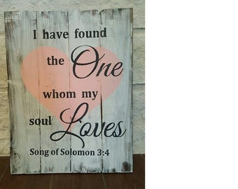 Song of Solomon Wood Home Decor