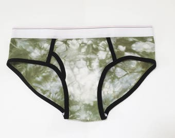 SALE!! Cotton Underwear, shibori, tie dye underwear, urban outfitters, free people, lingerie, gift for her, bohemian, women's underwear