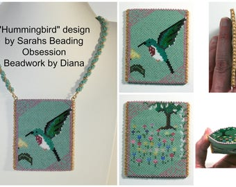 Hummingbird Amulet Bag