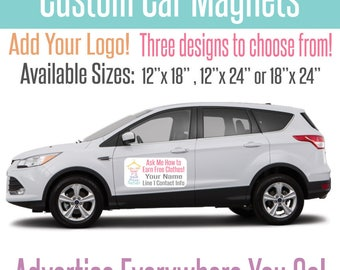 Car Magnets Etsy - Custom volleyball car magnets