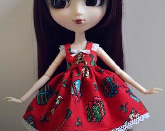 Pullip/Hujoo - dress Christmas 2