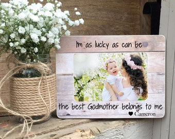on sale godmotherframe godmother gift godparent frame baptism dedication christening gift 4x6 frame