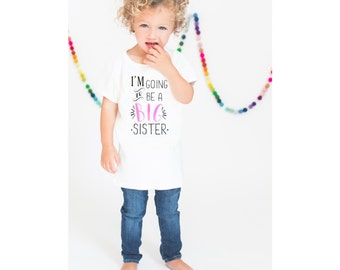 Big Sister Shirt, Kids Shirt, Pregnancy Announcement Shirt, Sibling Shirt, Max and Mae Kids