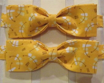 Yellow Light Bow Tie