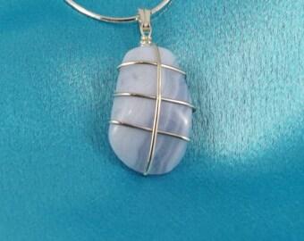 Blue Lace Pendant