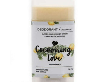 Natural deodorant- Cypress/ Ho Wood/ l Lemon
