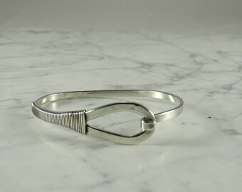 Off The Cuff Sterling Silver Bangle