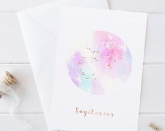 Zodiac Constellation Birthday Cards