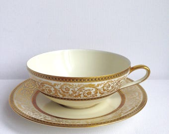 Beautiful Vintage Bavaria Cup and Saucer Germany
