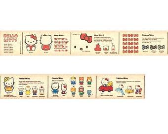 mt x Sanrio Hello Kitty Book Washi Tape