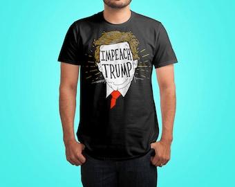 Impeach Trump Shirt by Ronan Lynam Illustration - Impeach Trump Tshirt / Impeach 45 Shirt / Dump Trump Shirt / Anti Trump Shirt / Fuck Trump