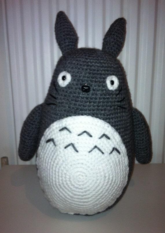 Totoro Crochet Large Totoro Amigurumi Totoro by ...