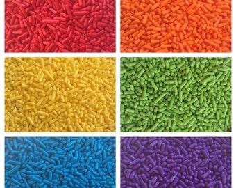 Rainbow Mix!! - 2oz each color - not mixed