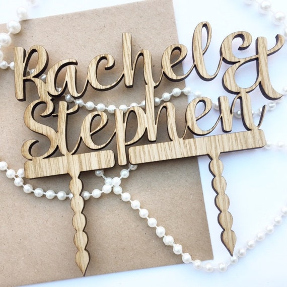 personalised wooden wedding cake toppers uk personalised wedding cake topper wooden cake topper wreath 18259