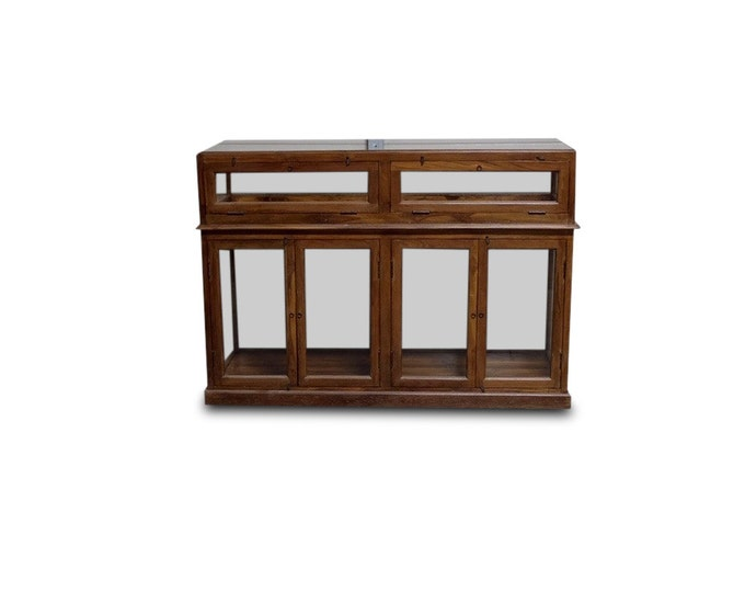 Glass Display Case - Total of 6 Available