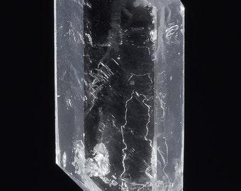 5cm Light SMOKEY QUARTZ Scepter with Rainbow - Quartz Crystal Specimen, Rainbow Crystal, Healing Crystal, Raw Crystal, Quartz Point 7212