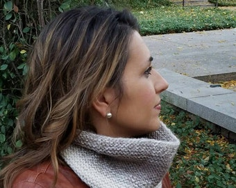 Women's Cowl // Circle Scarf // The Ombre Cowl