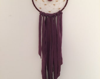 Maroon and Gold Dream Catcher