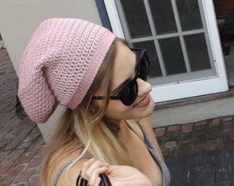 Slouchy Hand Crochet Hat