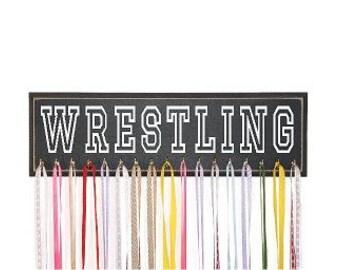 Wrestling Medal Holder, Perfect Gift for Wrestlers, Wrestling Medal Rack, Wrestling Medal Display