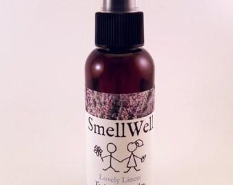 Natural Linen Spray - 'Lovely Linen' - Lavender and Rose Geranium - 100mL