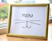 "Cat Art ""Meow"" ..."