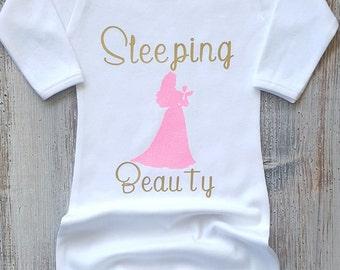 Newborn sleeper Newborn gown Baby gowns Baby clothes Baby