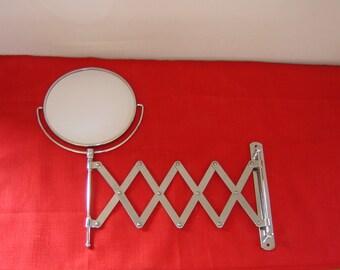 Miroir accordéon. Barbier , Shaving unit, Barber mirror. Vintage Japan