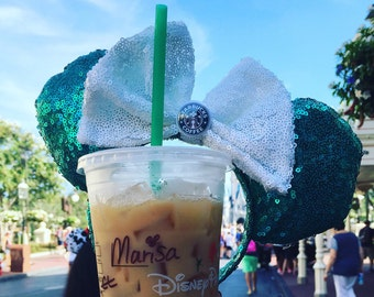 Starbucks Lover Minnie Ears!
