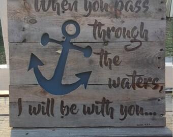 Anchor Scripture pallet art