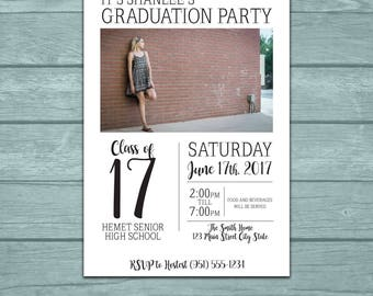 Graduation Party Announcement/Invitation