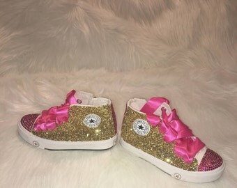 Custom Glitter Converse