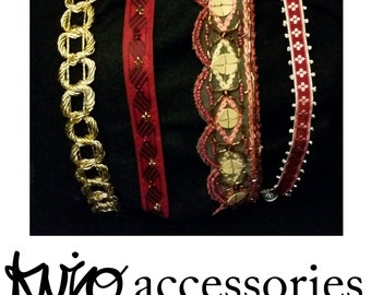 Ruby Red Love Set Hair Accessories