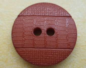 8 buttons Brown 20mm (6187) jacket buttons