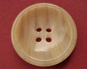 7 beige buttons 26mm (3808)