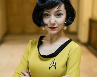 custom made Star Trek the Original Series uniform dress