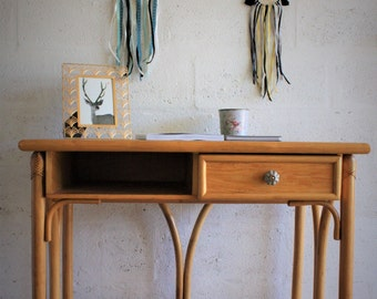 Vintage bamboo office