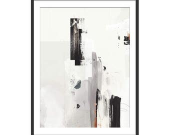 Abstract Art. Abstract Art Print. Steel City Art. Limited Edition. Heat of the Moment. Art Gift.